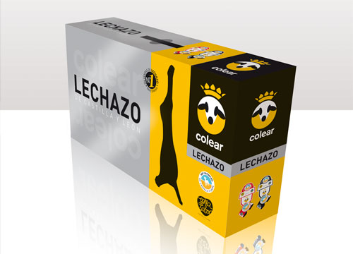 diseño packaging lechazo