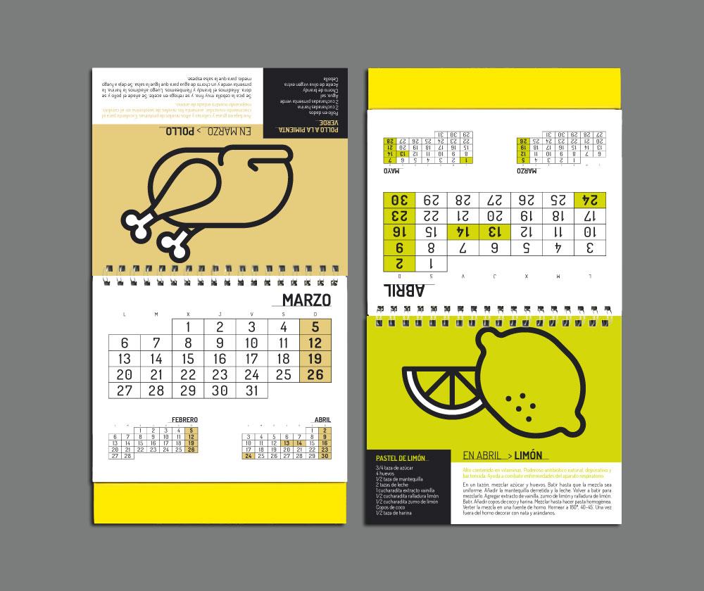 Dise o gr fico calendario trama agencia publicidad - Disenos de calendarios ...